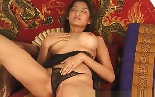 Heavy knockers asian belle dildoing perishable part3