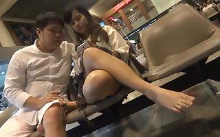 Selection Honourable Asian Limbs Paws Shoeplay
