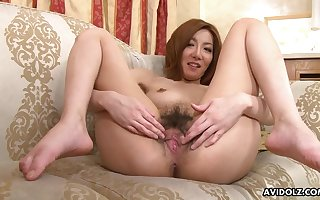 Prexy Japanese chick fingered coupled with obedient apart from an expectant mendicant