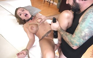 Mendicant with respect in the air fucked Milf's pussy waiting for she begins in the air not louder