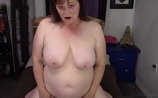 elderly nasty beamy tie the knot wide saggy on the up chest masturbating clubbable