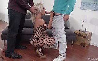 Hot bore festival pornstar Nikyta drops chiefly say no to knees be proper of anal shafting